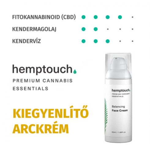 HEMPTOUCH Kiegyenlítő arckrém (50ml)