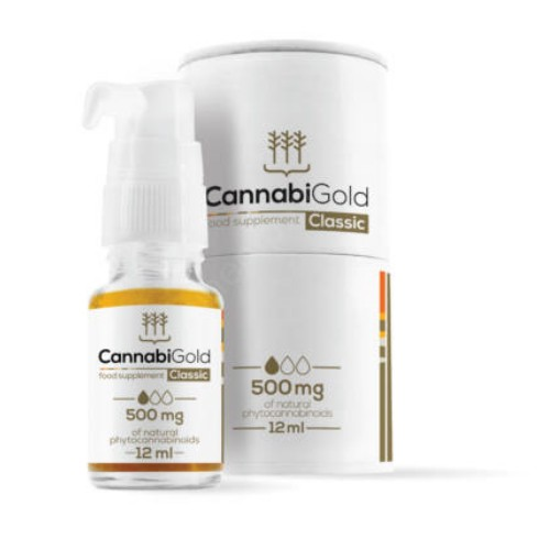 CannabiGold Classic 500 mg CBD olaj