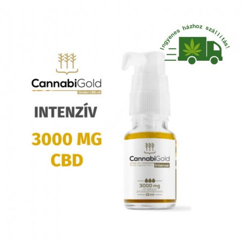 CannabiGold Intense 3000 mg CBD olaj