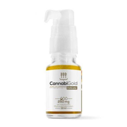 CannabiGold Delicate 250 mg full spectrum CBD olaj