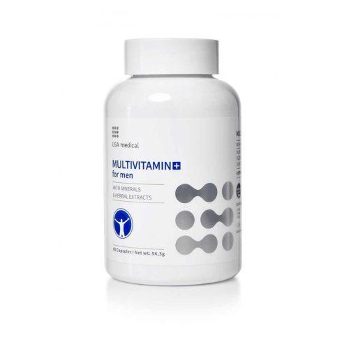 USA medical MULTIVITAMIN FOR MEN kapszula 60 db - multivitamin férfiaknak