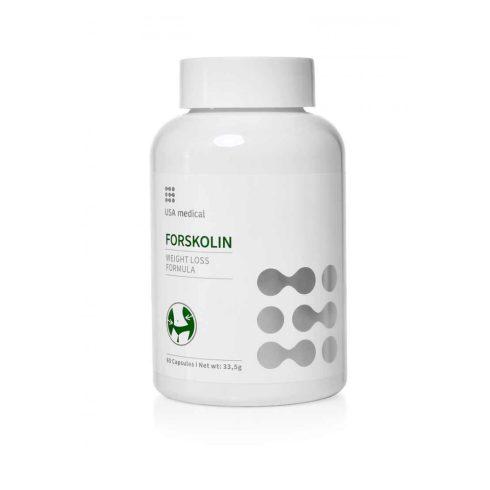 USA medical Forskolin kapszula 60 db - súlykontroll a természet erejével